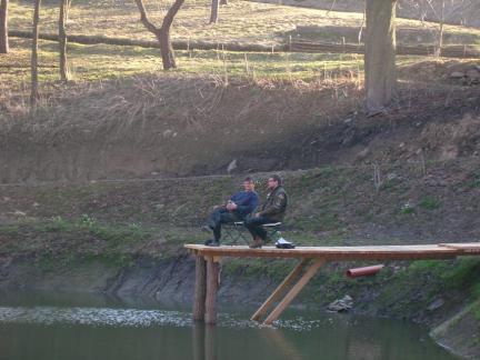 Zwei Männer am Steg! :)