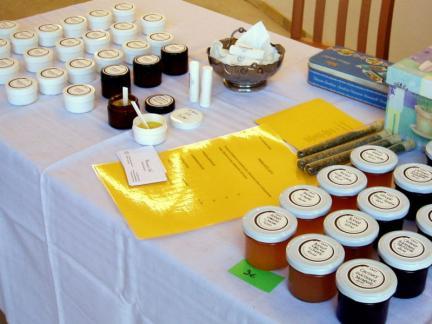2010: erster Frühlingsmarkt bei Reinsaat