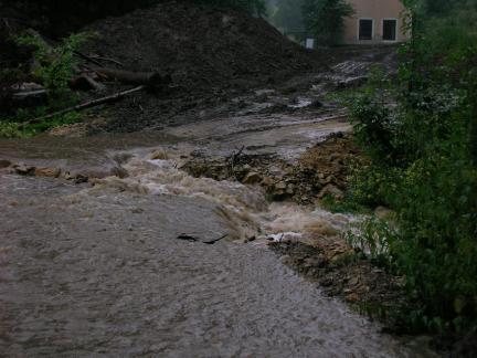 Zwischendurch Hochwasseralarm